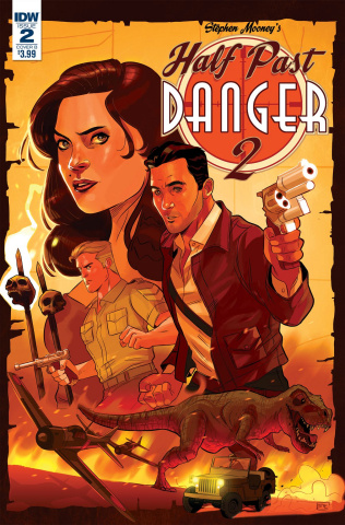 Half Past Danger II: Dead to Reichs #2 (Byrne Cover)
