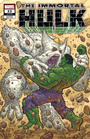 The Immortal Hulk #33 (Skroce Cover)