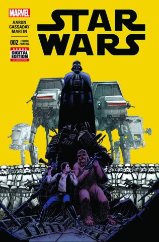 Star Wars #2 (Cassaday 4th Printing)