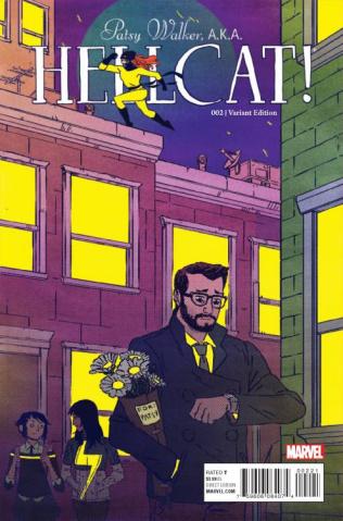 Patsy Walker, a.k.a. Hellcat #2 (Wyatt Cover)