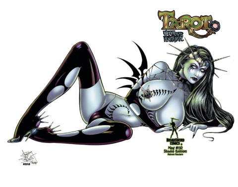 Tarot: Witch of the Black Rose #110 (Studio Deluxe Edition)