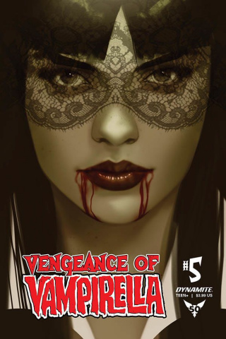 Vengeance of Vampirella #5 (40 Copy Oliver Tint Cover)