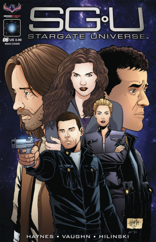 Stargate Universe #6 (Hilinski Cover)