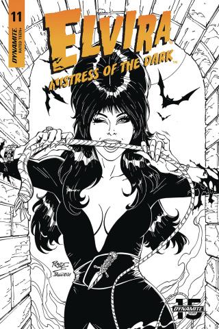 Elvira: Mistress of the Dark #11 (20 Copy Royle B&W Cover)