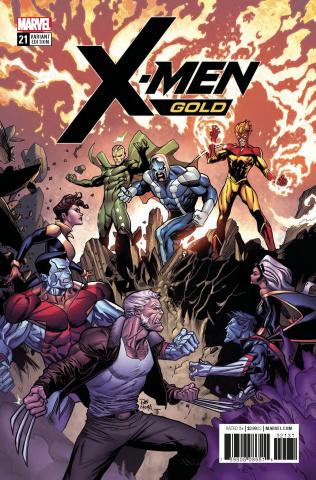 X-Men: Gold #21 (Mora Cover)