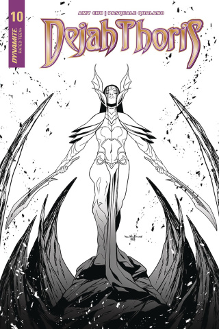 Dejah Thoris #10 (30 Copy Qualano B&W Cover)