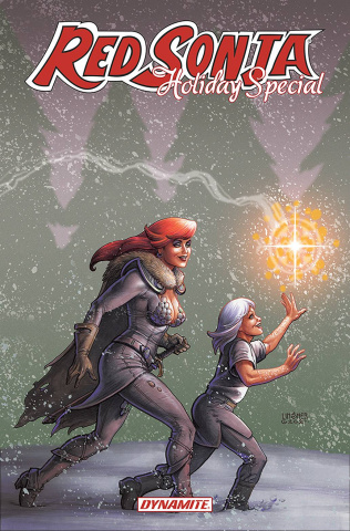 Red Sonja 2021 Holiday Special (Linsner Cover)