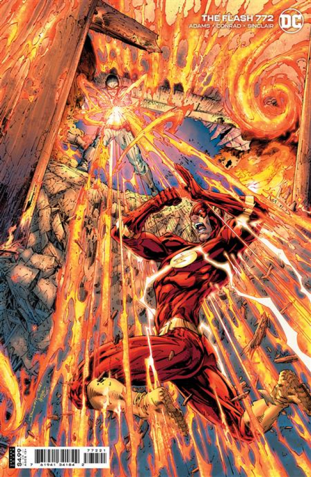 The Flash #772 (Brett Booth Card Stock Cover)