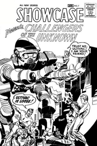 Challengers of the Unknown Omnibus by Kirby