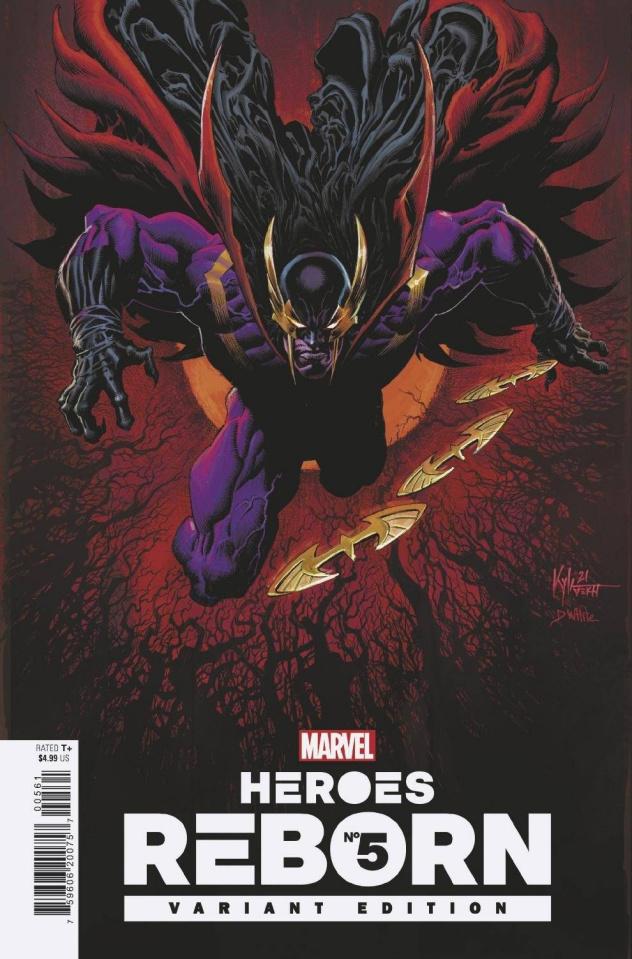 Heroes Reborn #5 (Hotz Cover)