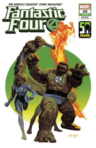 Fantastic Four #30 (Acuna Thing-Thing Cover