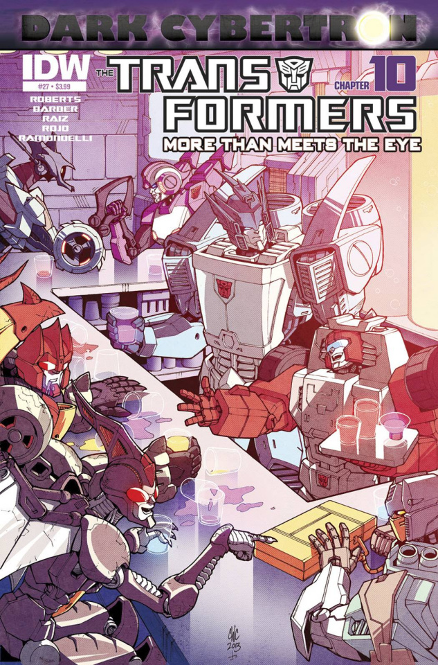 The Transformers: More Than Meets the Eye #27: Dark Cybertron, Part 10