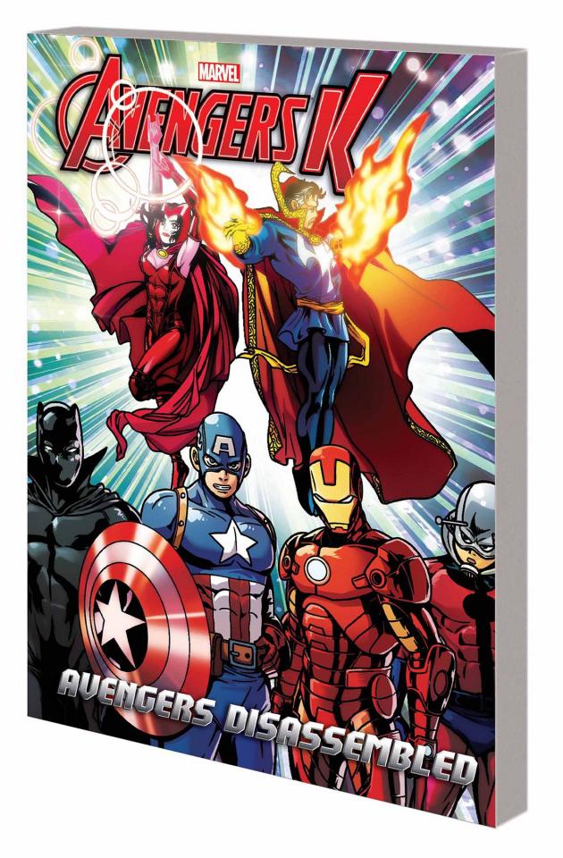 Avengers K Book 3: Avengers Disassembled