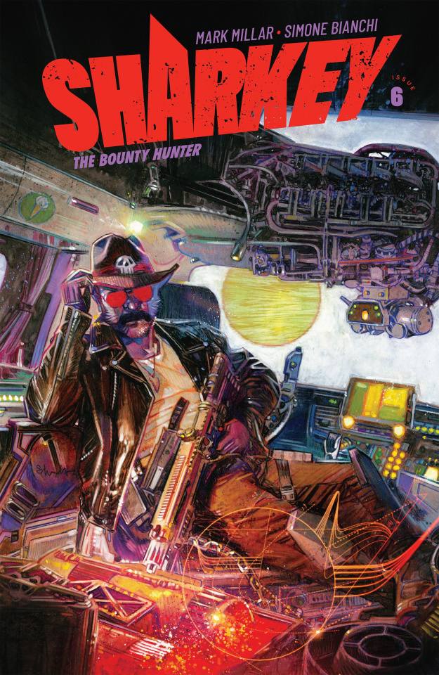 Sharkey, The Bounty Hunter #6 (Edwards Cover)