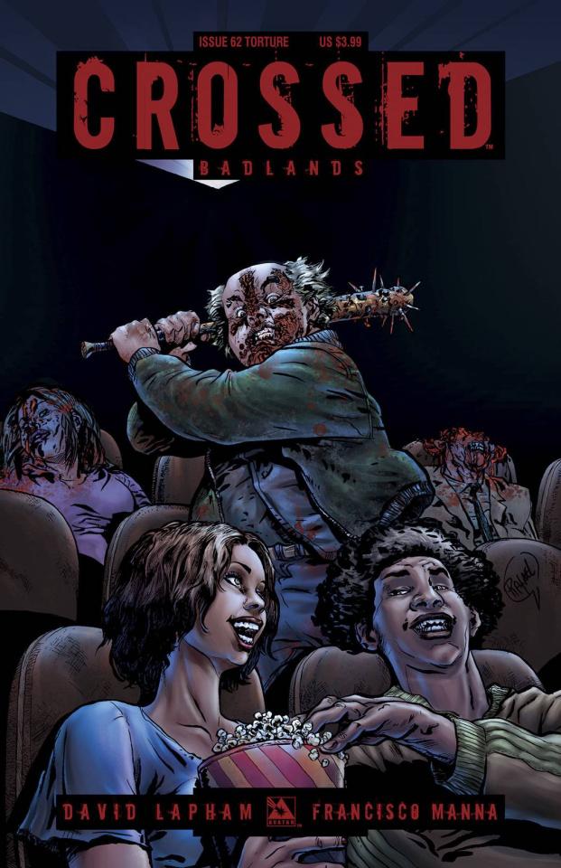 Crossed: Badlands #62 (Torture Cover)