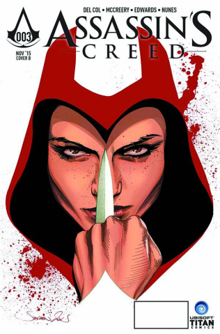 Assassin's Creed #3 (Subscription Mooney Cover)