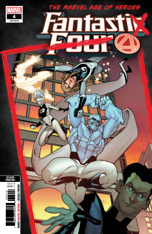 Fantastic Four #4 (Caselli 2nd Printing)