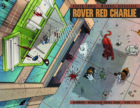 Rover Red Charlie #2 (Wrap Cover)