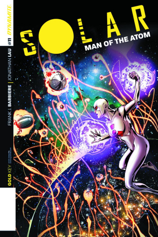 Solar: Man of the Atom #11 (Laming Cover)