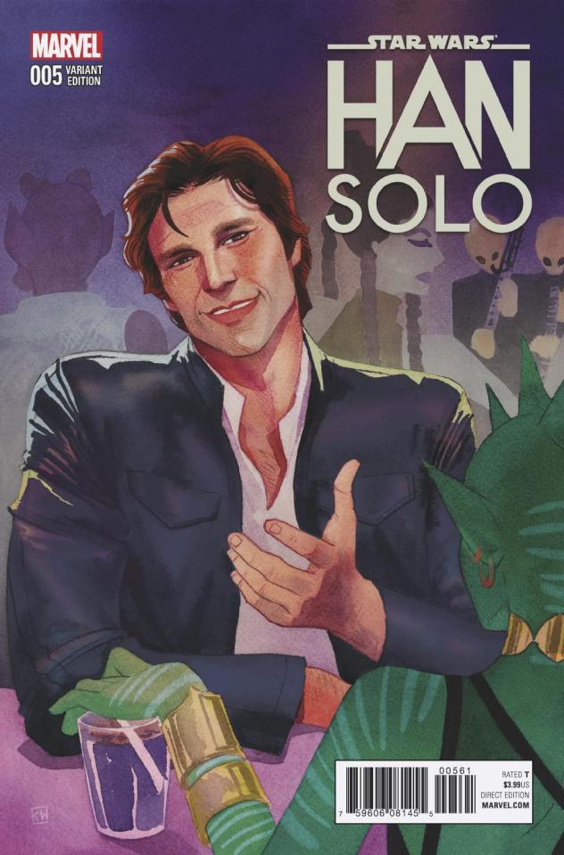 Star Wars: Han Solo #5 (Wada Cover)