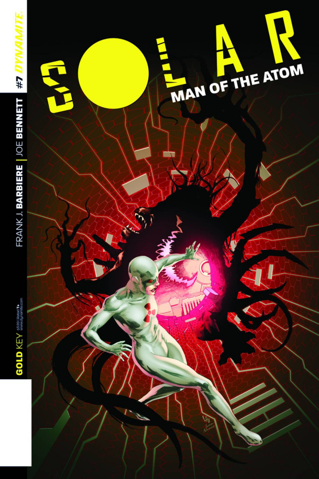 Solar: Man of the Atom #7 (Lau Subscription Cover)