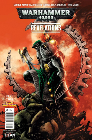 Warhammer 40,000: Revelations #2 (Salgado Cover)