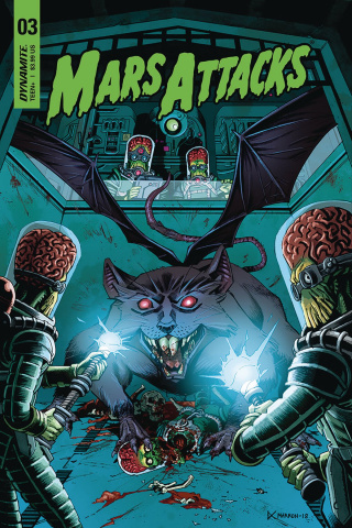 Mars Attacks #3 (Marron Cover)