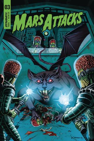 Mars Attacks #3 (Marron Cover)