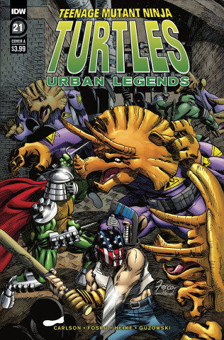 Teenage Mutant Ninja Turtles: Urban Legends #21 (Fosco Cover)