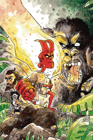 Young Hellboy: The Hidden Land #2 (Aragno Cover)