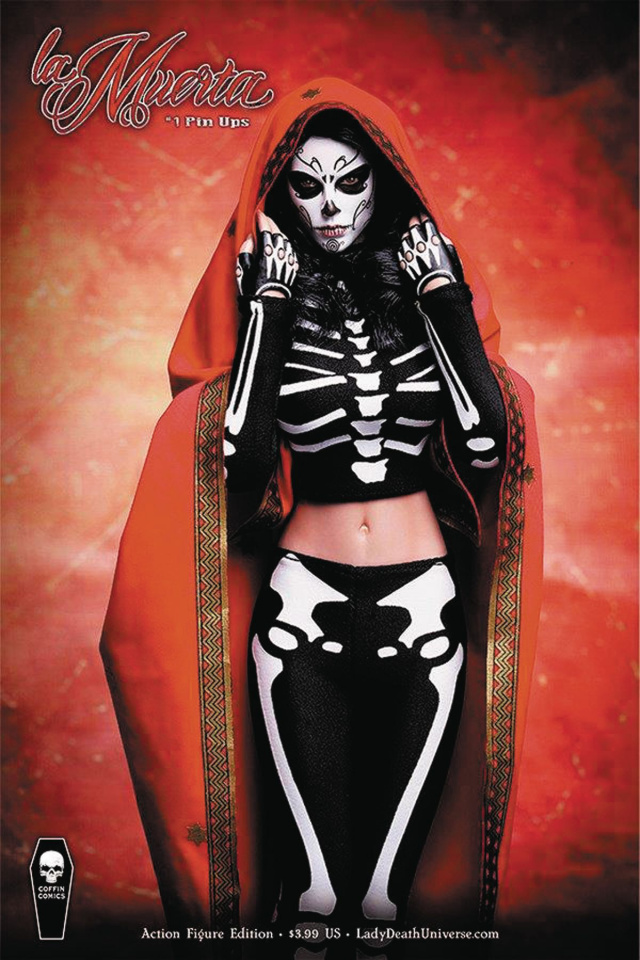 La Muerta: Pin-Ups (Action Figure Cover)