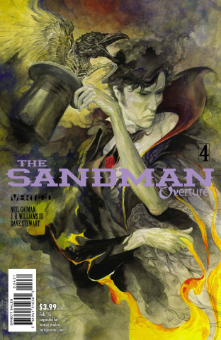 The Sandman: Overture #4 (Special Ink Cover)