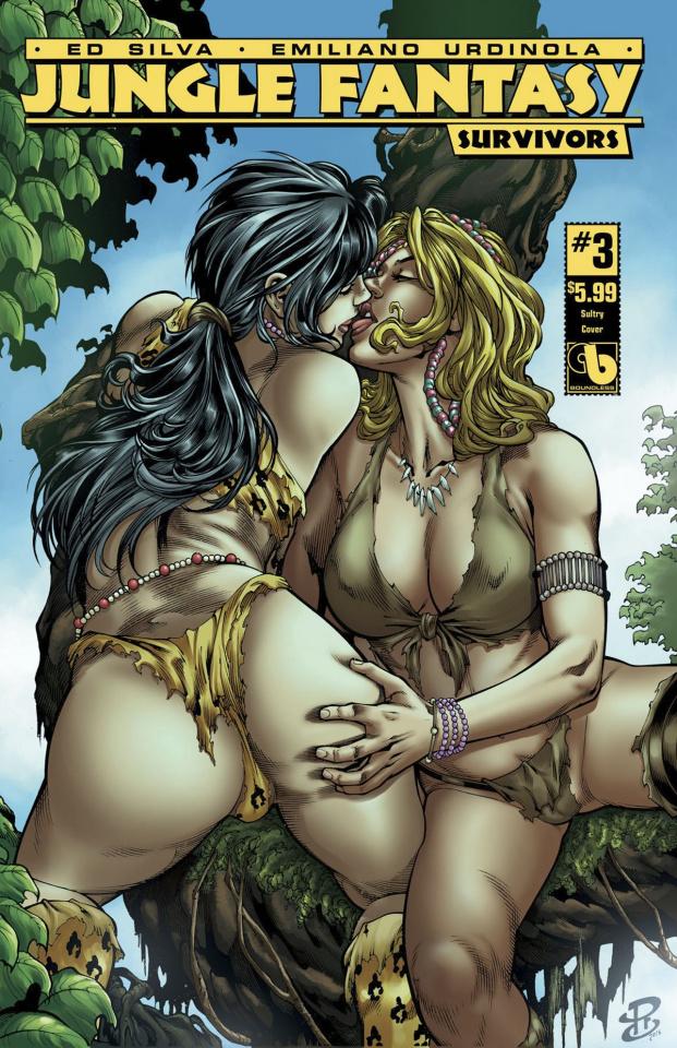 Jungle Fantasy: Survivors #3 (Sultry Cover)