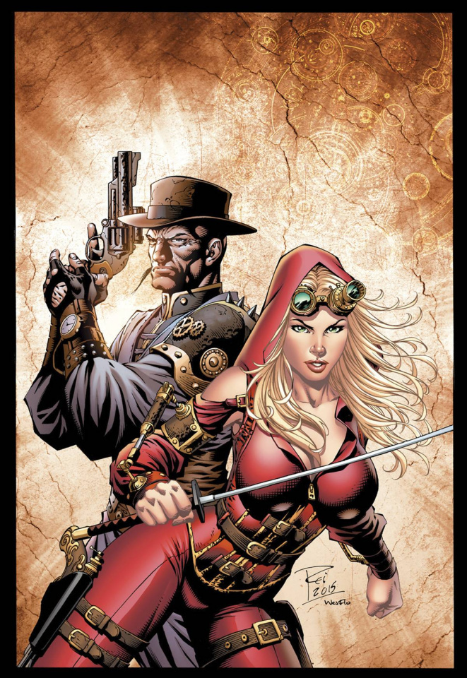 Grimm Fairy Tales: Steampunk #1 (Rei Cover)