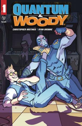 Quantum & Woody #1 (Lopez Cover)