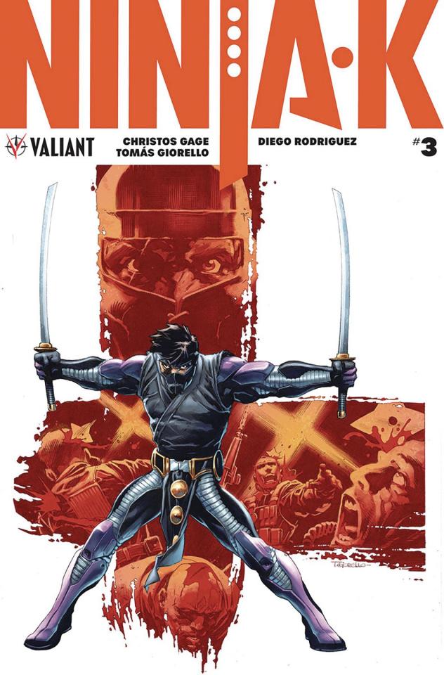 Ninja-K #3 (50 Copy Giorello Cover)