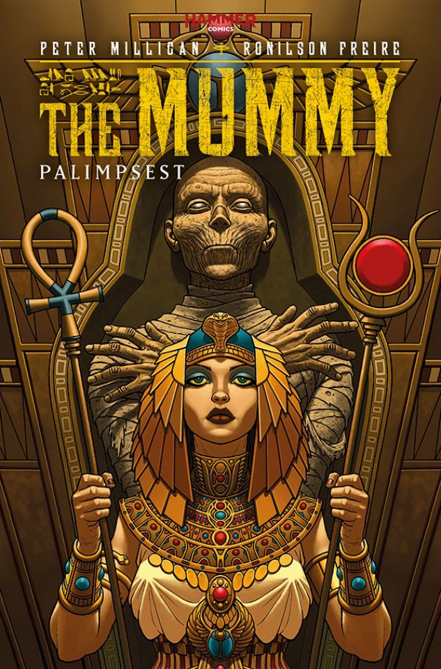 The Mummy #2 (McCaffrey Cover)