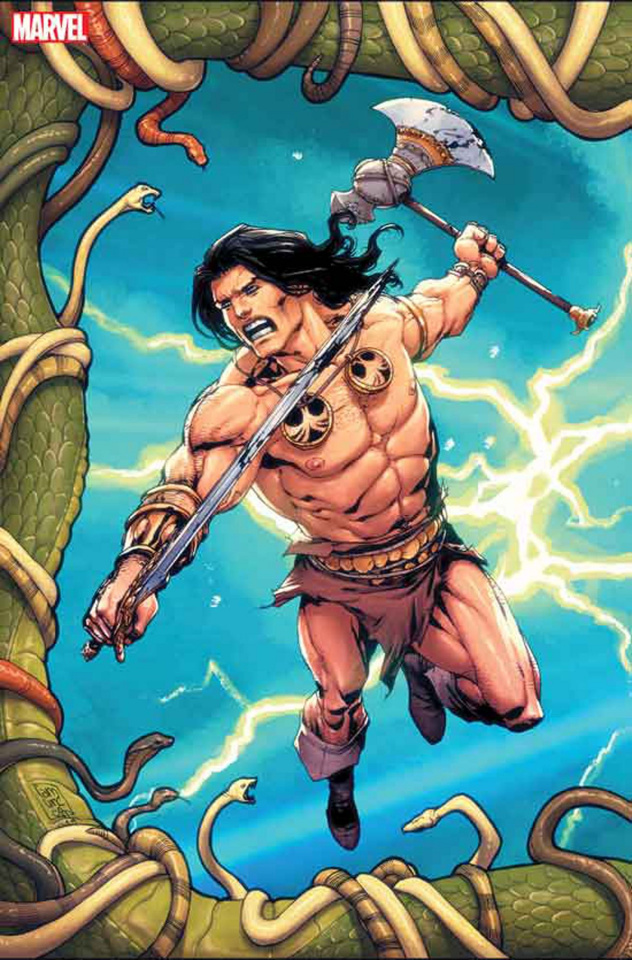 Conan: Serpent War #1 (Camuncoli Virgin Connecting Cover)