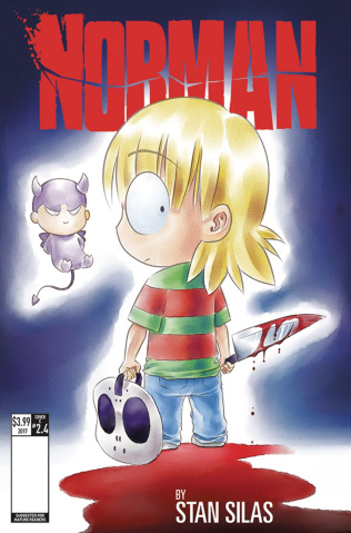 Norman: The First Slash #4 (Leong Cover)