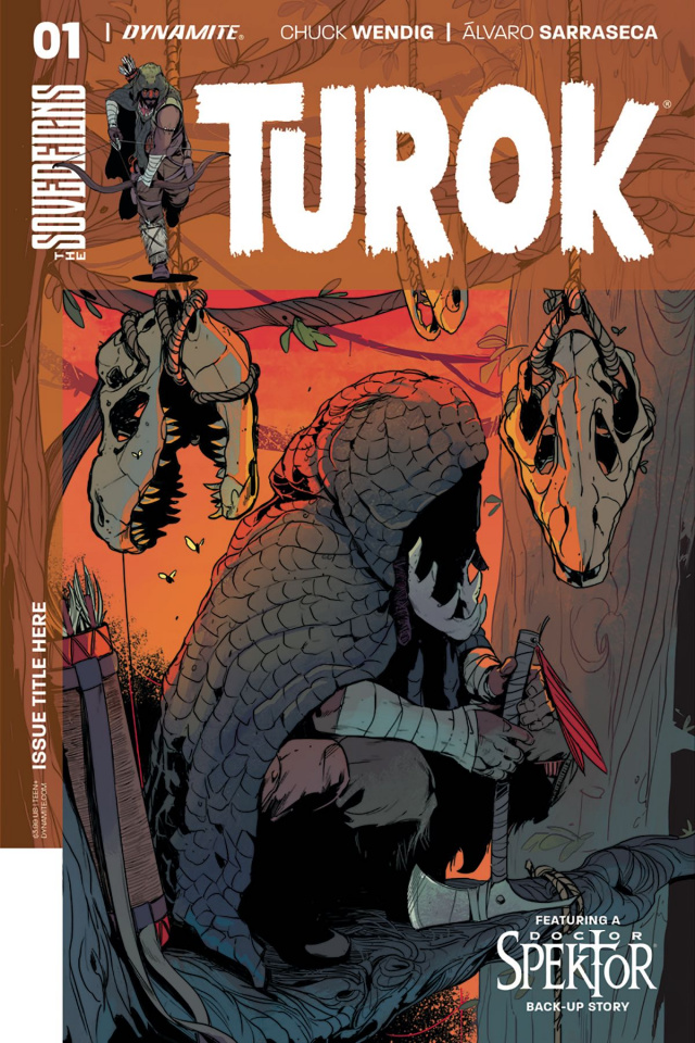 Turok #1 (Sarraseca Cover)