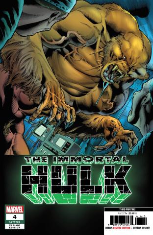 The Immortal Hulk #4 (Bennett 3rd Printing)