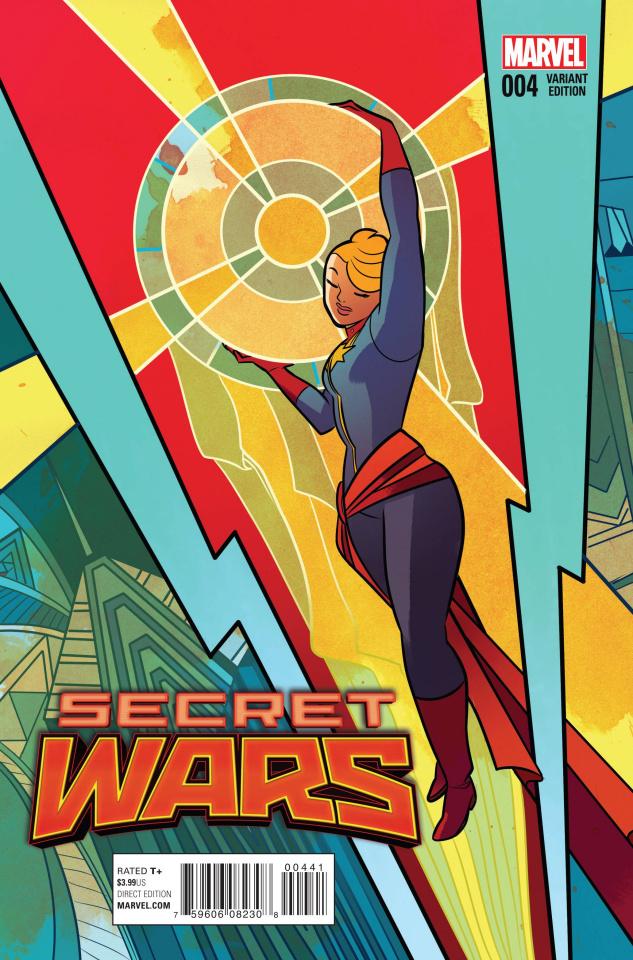 Secret Wars #4 (Henderson Cover)