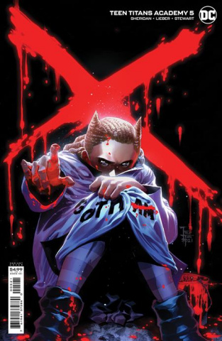 Teen Titans Academy #5 (Philip Tan Card Stock Cover)