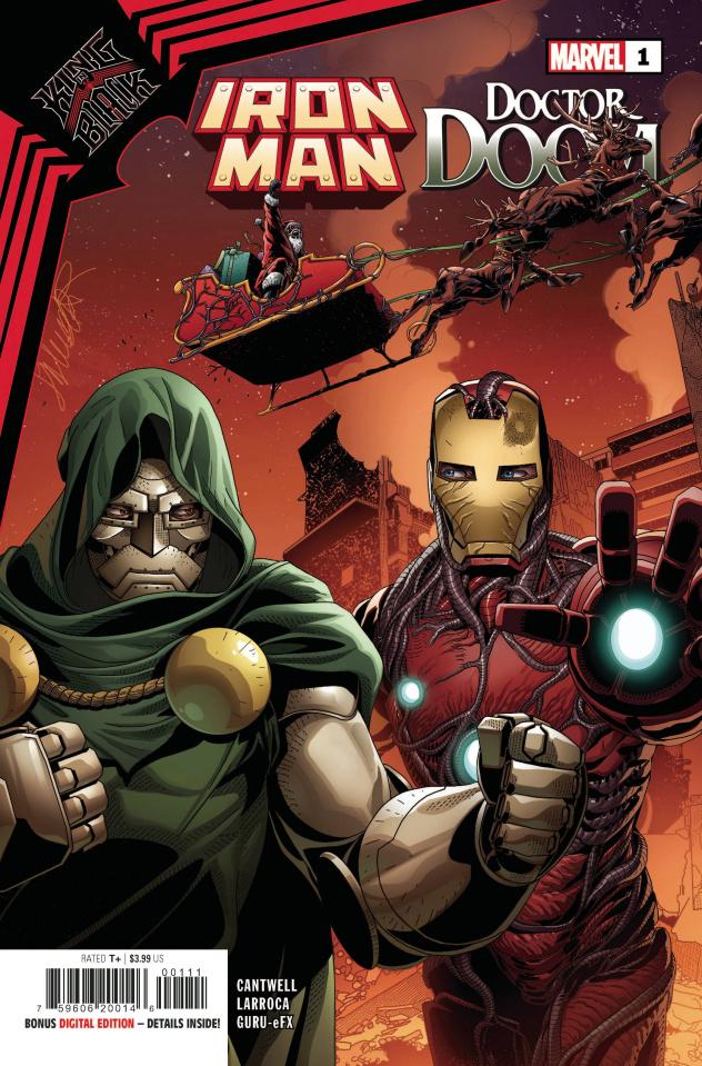 King in Black: Iron Man / Doctor Doom #1