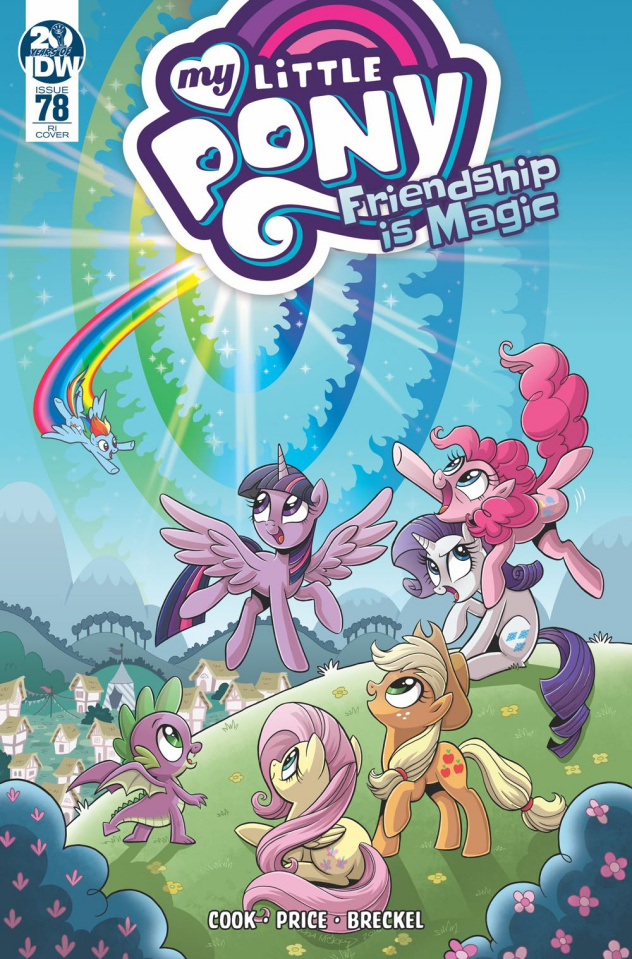 My Little Pony: Friendship Is Magic #78 (10 Copy Hickey Cover)