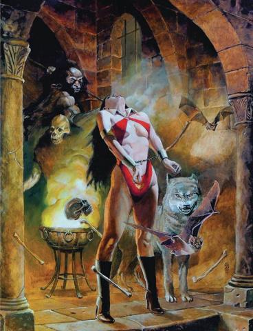 Vampirella (J.G. Jones Virgin Cover)