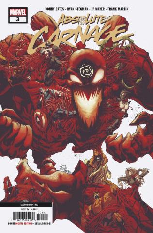 Absolute Carnage #3 (Stegman 2nd Printing)