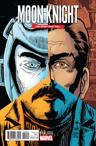 Moon Knight #10 (Story Thus Far Cover)