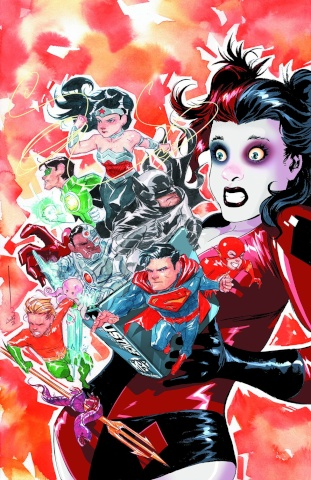 Justice League #39 (Harley Quinn Cover)