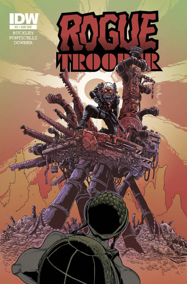 Rogue Trooper #3 (Subscription Cover)